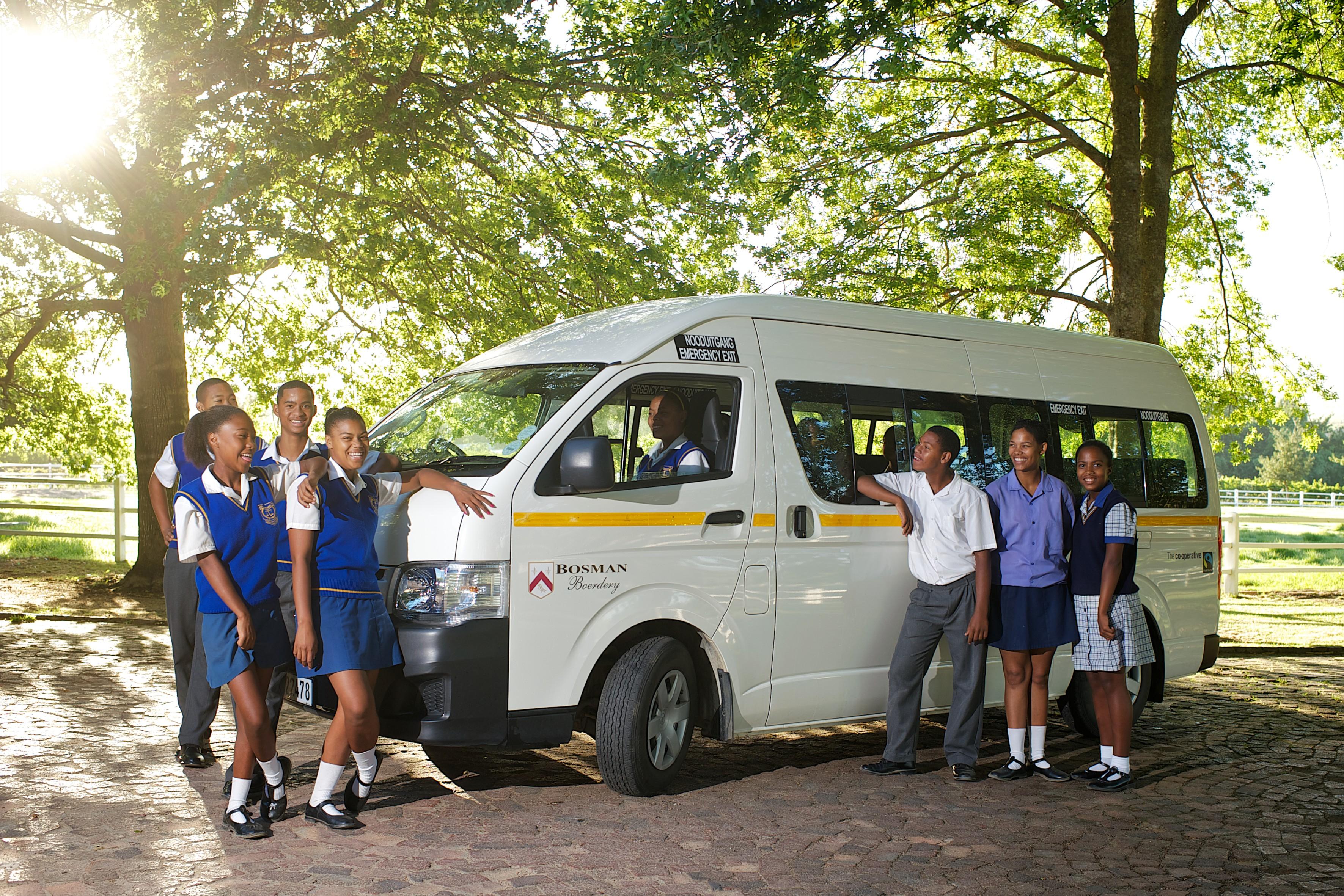 Noordman Wijnimport - Bosman Fairtrade Bus