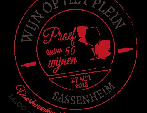 3e editie Wijn op het Plein in Sassenheim.