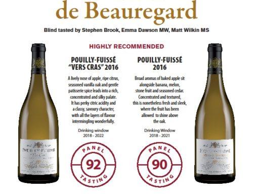 Mooie punten voor onze Bourgogne wijnen!