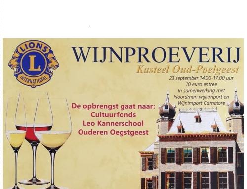 Lions Wijnproeverij