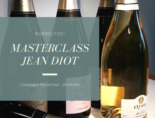Champagne Masterclas – Jean Diot